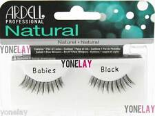 10 Pairs ARDELL Natural Babies False Eyelashes Fake Eye Lashes Black Lash