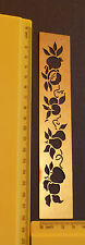Brass/stencil/Border/Fruit/Apple/Pear/Emboss/Embossing/Leaf