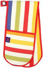 Dexam Regatta multicolor rayas guante doble horno manopla aislante Algodón