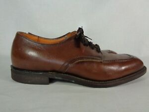 Red Wing Men's Oxfords Leather Work Lace Up 60's Blue Collar Vintage 8.5 EE