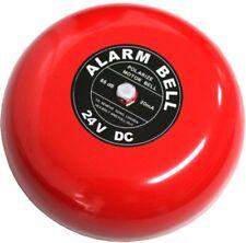 Fire Alarm Bell Feuererlarm Glocke Sirene 97dB 24V DC ∅ 115 mm
