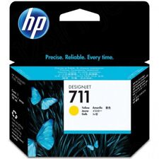 HP 711 29ml Yellow Ink Cartridge CZ132A for Designjet T120/T520 Inkjet Printers