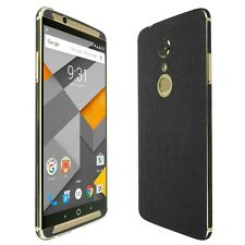Skinomi Brushed Steel Skin+Clear Screen Protector for ZTE Axon 7
