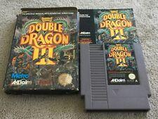 Double Dragon III 3 The Sacred Stones Nintendo NES Boxed PAL *Complete*