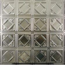 #119-Tin Ceiling Tiles - Unfinished - Nailup, 5 pcs per box