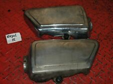 Seitendeckel links rechts Metall side cover  Yamaha XS 650 #R