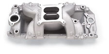 Edelbrock 7562 B/B Chev Rect Port RPM Air-Gap Manifold