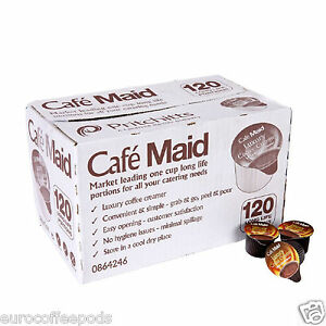 120 Cafe Maid Coffee Creamer Individual Portions