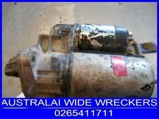 HOLDEN COMMODORE STARTER VL RB30 6 CYL 86 TO 88 WRECKING CAR BOSCH 1161 SKYLINE
