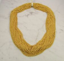 Steph Liz whole Sale lot of 12 fine link rope Chain necklaces