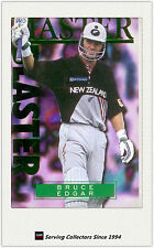 1996 NZ High Velocity Cricket Trading Card Master Blaster #4 Bruce Edgar