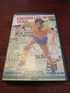 Footballer Of The Year - ZX Spectrum 48K/128K Gremlin 1986 Tested/Working