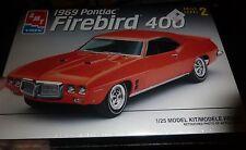 AMT ERTL 1969 PONTIAC FIREBIRD 400 TRANS AM 1/25 MODEL CAR MOUNTAIN FS 2N1