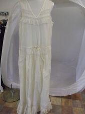 Bodenlange Damenkleider aus Baumwolle für Strand -