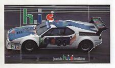 Adesivo BMW M1 HIS Team CASSANI PROCAR Series 1980 sticker Winkelhock H.I.S