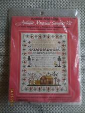 """Paragon ANTIQUE MUSEUM SAMPLER Counted Cross Stitch  SEALED Kit #0161- 18"""" x 14"""""""