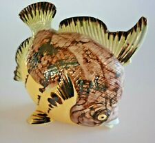 Ceramic Toothbrush Holder Fish Wall Mount