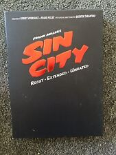 Frank Miller's Sin City Recut Extended Unrated 2 DVD Box Set w/ Book Tarantino