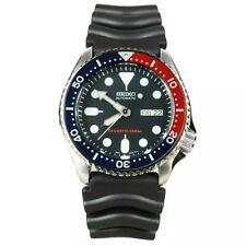 Seiko Orologio Uomo Automatico Diver Blu/Rosso Gomma SKX009K