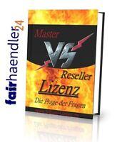 ►MASTER VS RESELLER LIZENZ VS PLR WIE MAN GELD VERDIENT PRODUKTEN EBOOK E-LIZENZ