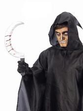 Lote de 12 unidades hoz disfraz accesorio halloween terror muerte