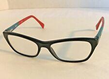 RayBan Womens Eyeglasses RB5298 5548 53-17-135 Black Polish/Teal Blue Rx Optical
