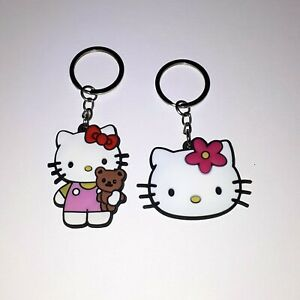 Hello Kitty Keyring, Key Ring, Keychain, Key Chain - Sanrio Cute Gift