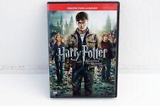 HARRY POTTER Y LAS RELIQUIAS DE LA MUERTE PARTE 2 - DVD EDICIÓN ALQUILER