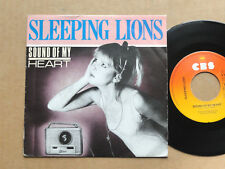 "DISQUE 45T DE SLEEPING LIONS  "" SOUND OF MY HEART """