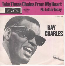 7inch RAY CHARLES take these chains from my heart HOLLAND EX+  (S2547)
