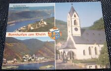 Germany Bornhofenam Rhein Multi-view - posted 1982