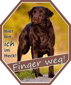 Auto Aufkleber Labrador Retriever - Dog Sticker, Labbie, Foliensticker,