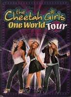 CHEETAH GIRLS 2008 ONE WORLD TOUR CONCERT PROGRAM BOOK BOOKLET / EX 2 NMT