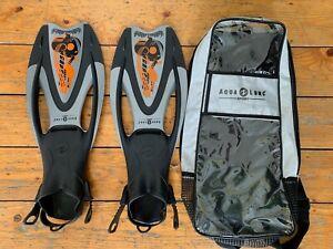 Aqua Lung Sport Snorkelling Fins, Size L