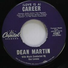 Pop 45 Dean Martin - (Love Is A) Career / I Ain'T Gonna Lead This Life No More O