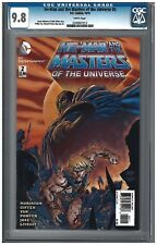 He-Man and the Masters of the Universe #2 CGC 9.8 (10/12) DC white pages