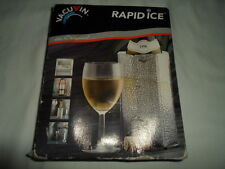 Vacu Vin Rapid Ice Can Cooler - Silver New