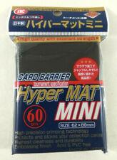 Yu Gi Oh 60 Kmc Hyper Mat Mini Black Sleeves Guard Cards 62x89mm
