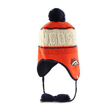 Women's NFL Denver Broncos Embroidered Jacquard Graphic Cuff Knit Hat by '47