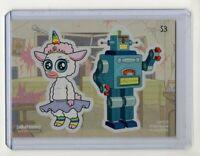 Cryptozoic Rick & Morty Season 2 Sticker Chase Card #S3 Tinkles Big Robot