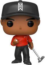 FunKo Pop! Golf Legend Tiger Woods Red Shirt Vinyl Figure #01 Brand New