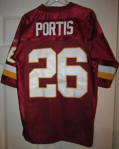 NFL Washington Redskins Clinton Portis #26 Jersey by Reebok Size 48 Sewn
