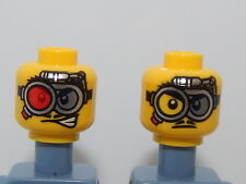 Lego Minifigure Head Monster Fighters Crazy Scientist H49