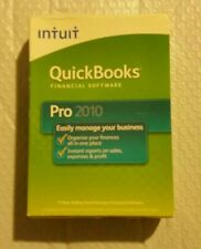 Intuit QuickBooks Pro 2010 Full Version for Windows