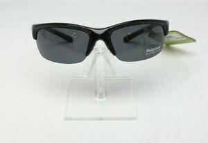 Solar Comfort Black Polarized Sunglasses 6W215190E 100% UV NEW See Description