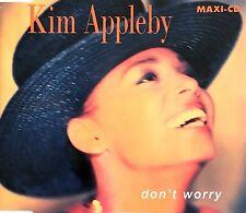 Kim Appleby Maxi CD Don't Worry - Europe (EX+/EX)