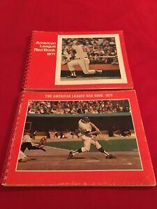 1971-2006 MLB American League Red Book / You pick 'em / Brett / Griffey / Ortiz