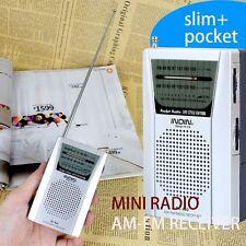 Portable Pocket Universal AM/FM Radio World Receiver Built in Speaker BC-R60