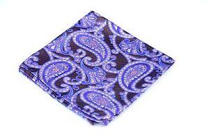 Lord R Colton Masterworks Pocket Square - Cafayate Brown Silk - $75 Retail New