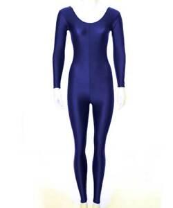 Ganzanzug mit langem Arm für Ballett, Tanz, Kostüme, Sport, Voltigieren